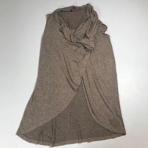 Olivia Sky tunic tank top open slit front women XL